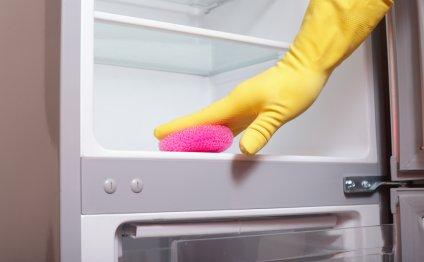 Уборку на кухне лучше начинать