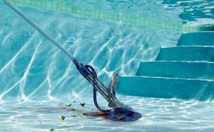 Чистка бассейнов и уход за