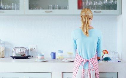 Уборка на кухне без применения
