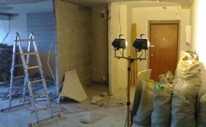 Уборка после ремонта и